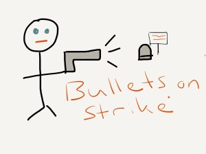 Bullets on Strike