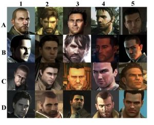 Some of them have more facial hair than the others, DIVERSITY!